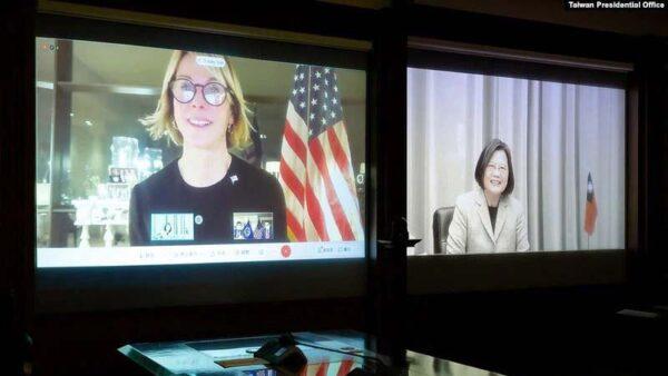 美驻联合国大使与蔡英文视频通话 中共恼怒威胁