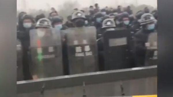 北京小湯山強拆逾兩月 母子寒冬無家可歸露宿街頭