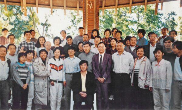 忆李洪志师父在美国第一次讲法(图)