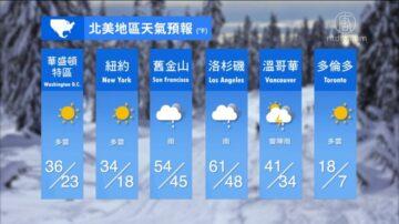 1月28日全球天气预报