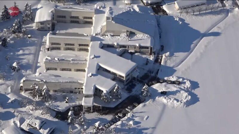 日本秋田積雪達往年4倍 3人疑除雪喪命