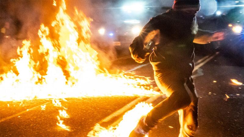 國會認證當晚「安提法」波特蘭暴動 竟無一人被捕