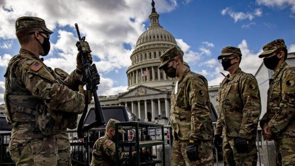 強化拜登就職典禮安保 2千美軍成為特別執行法警
