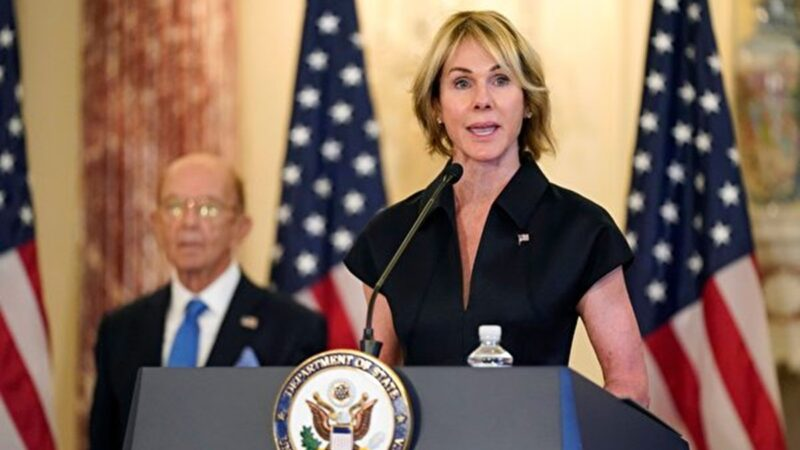 美驻联合国大使与蔡英文通话:美台并肩站在一起