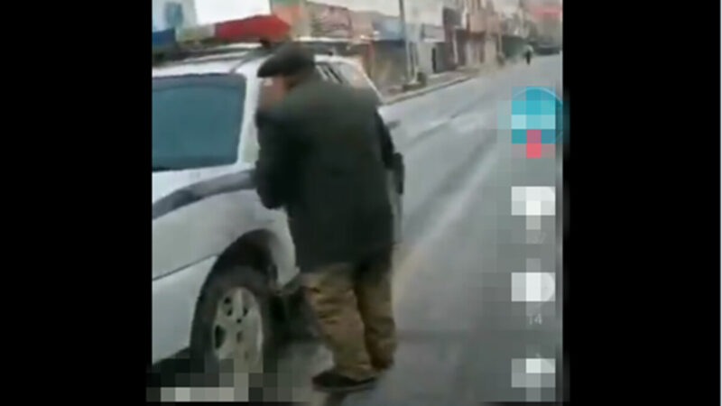 黑龍江老人絕望求警察:把我送監獄 還有飯吃(視頻)