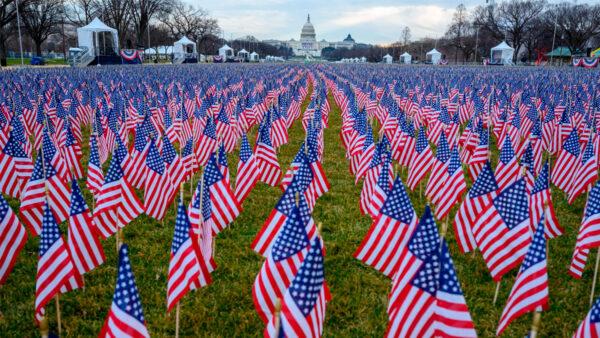 20萬旗幟作「代表」 參加拜登就職典禮