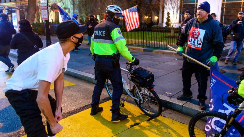 假冒川普支持者衝入國會 「黑命貴」份子被捕