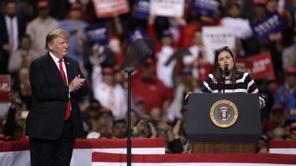 前白宮發言人宣布競選州長 川普發聲明支持