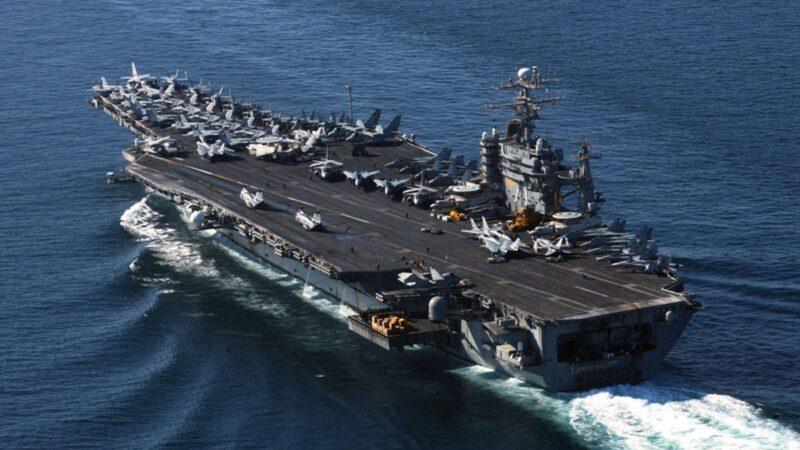 美航母突然進入南海 中共智庫震驚:實戰部署味濃