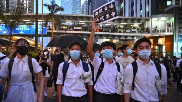 香港再現「火藥桶」 近9成高中生不信任港府