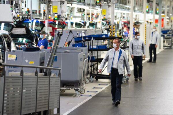德國汽車工業減產 芯片大缺貨成戰略性產品