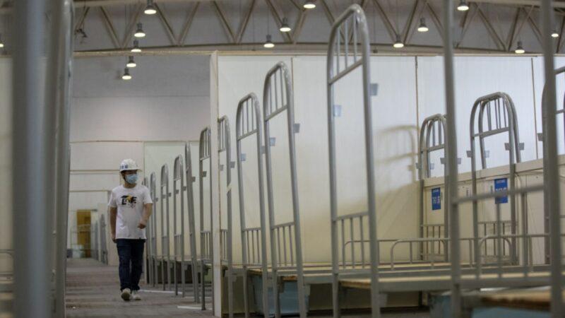 疫情將大爆發?內蒙擬建43方艙醫院 瀋陽封社區