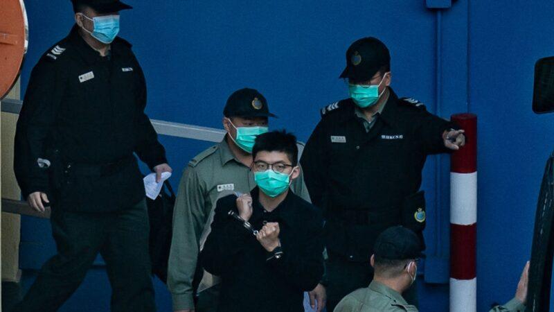 """香港""""六四""""集结案 黄之锋遭判10个月"""