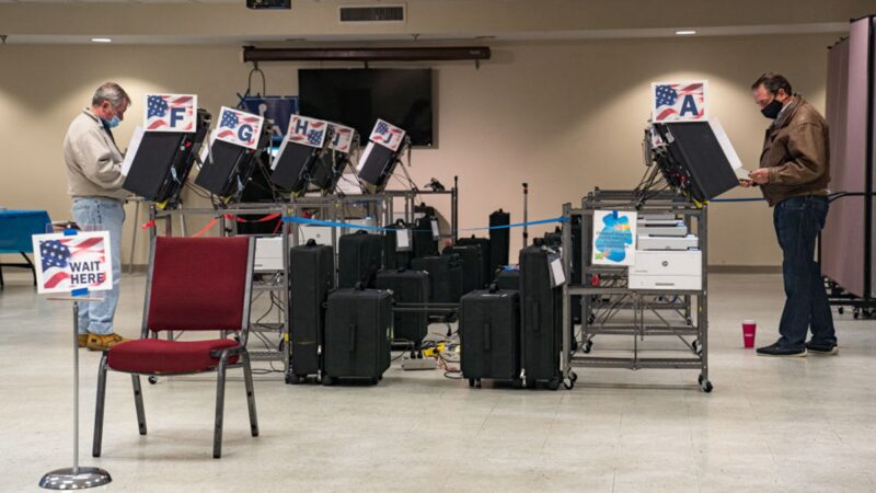 专家揭美国大选最大黑手:投票结果被送往中国