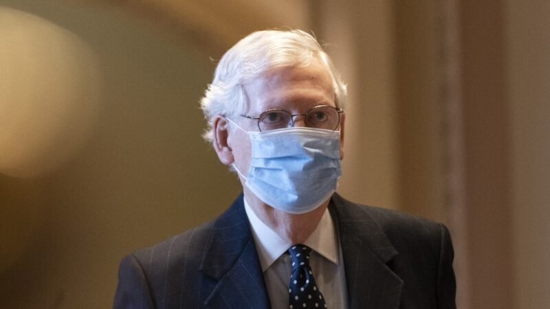 麦康奈尔提议将弹劾案推至2月:给川普准备时间