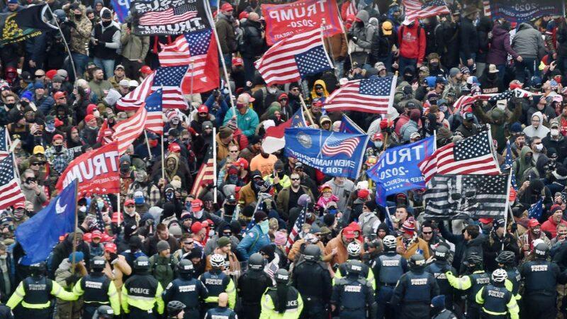 國會抗議者:我聽到安提法討論行動計劃(視頻)