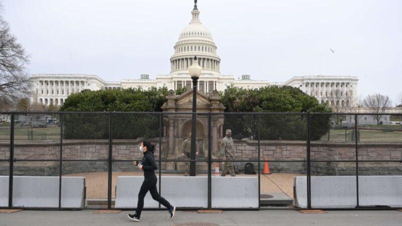 國會大廈調兵6千協防 就職典禮現場加設巨大圍欄