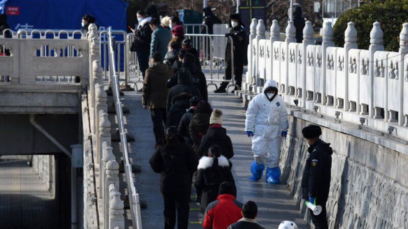 北京疫情四起 男厕也检测出病毒阳性