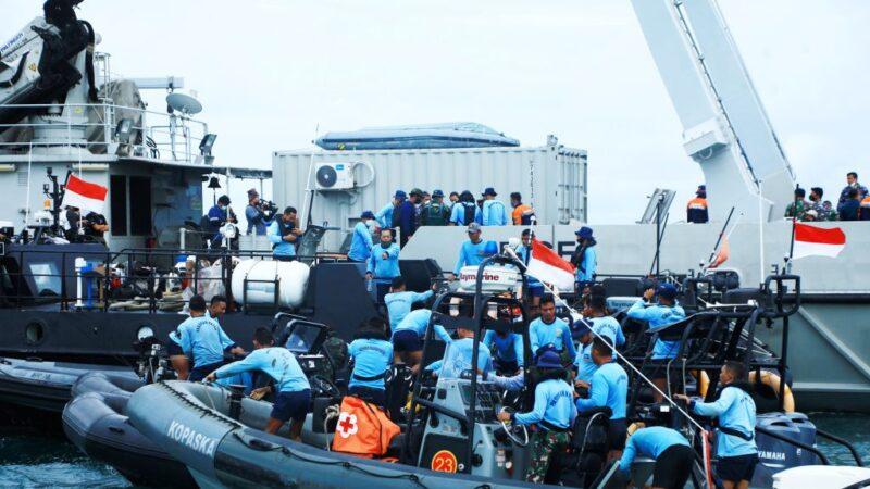 判读雷达资料 印尼廉航疑坠海后爆炸