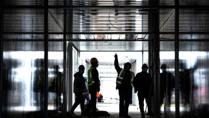 河北搶建方艙醫院畫面曝光 網傳200人染疫死亡