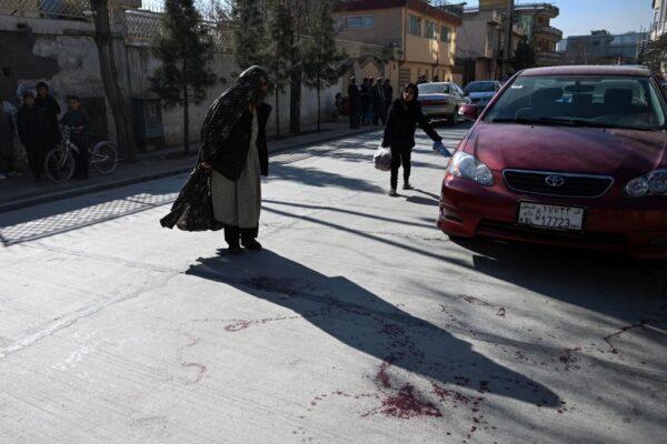 上班途中遭當街伏撃 阿富汗兩女法官身亡