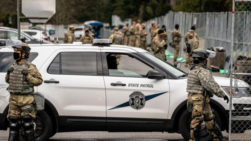 拜登就职安保计划曝光 华盛顿如同战区