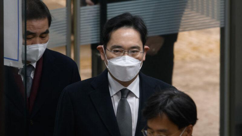 行賄案改判2年6個月 三星李在鎔遭當庭羈押