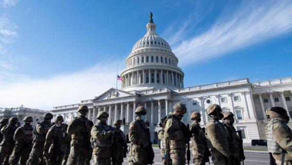 外媒评拜登就职礼:民众少,军人多,史上最冷清