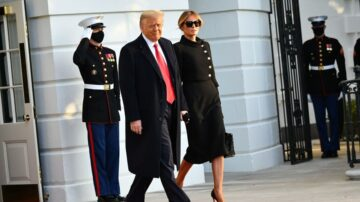 【重播】川普总统在安德鲁斯空军基地举行离任仪式(同声翻译)