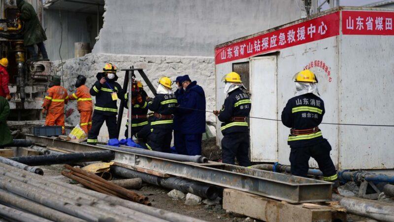 山东金矿事故仍在隐瞒?女记者受伤大喊救命