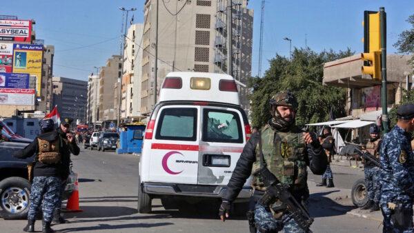 伊拉克连环自杀爆炸 至少32死110伤