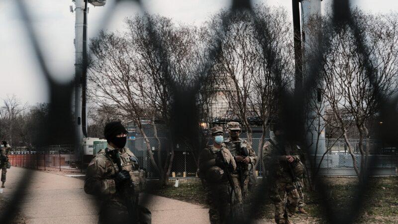 拜登就職禮如臨大敵 12名國民兵因背景問題被撤
