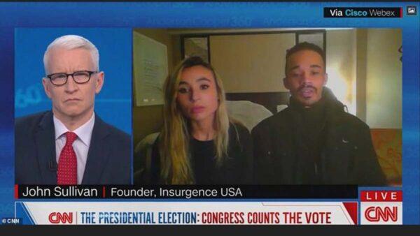 BLM成员扮川粉闯国会 与CNN记者同欢呼