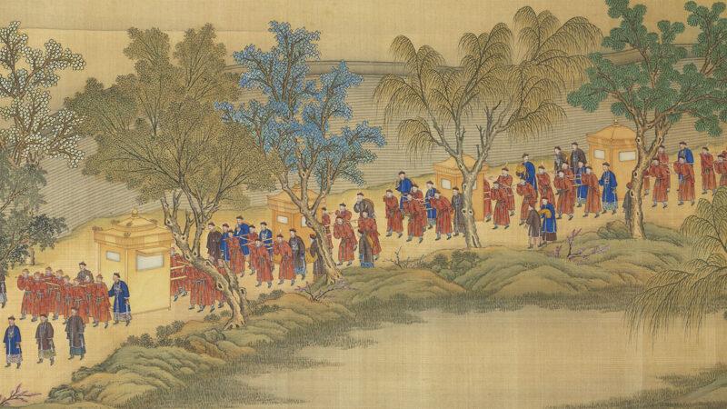 【馨香雅句】《孝賢皇后親蠶圖》背後 她和乾隆的故事