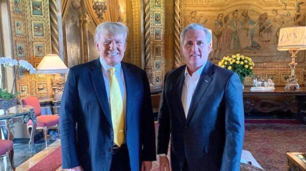 川普會晤共和黨領袖麥卡錫 商討2022年奪回眾院