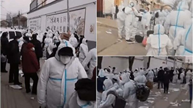 河北染疫暴增 南宫三里庄全村拉到邢台隔离(视频)