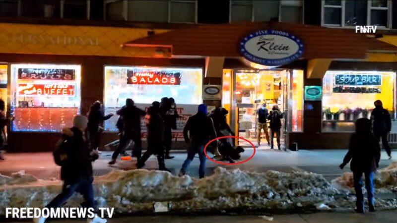 曼哈顿BLM游行酿冲突 摄影记者惨遭殴打