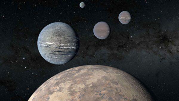 """美2名高中生""""中了大奖"""" 发现4颗系外行星"""