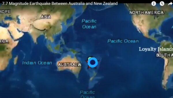 7.7強震襲南太平洋海域 引發小型海嘯