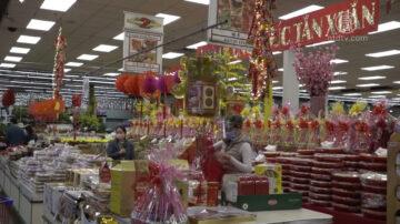 迎中国新年 越华超市特色年货丰富