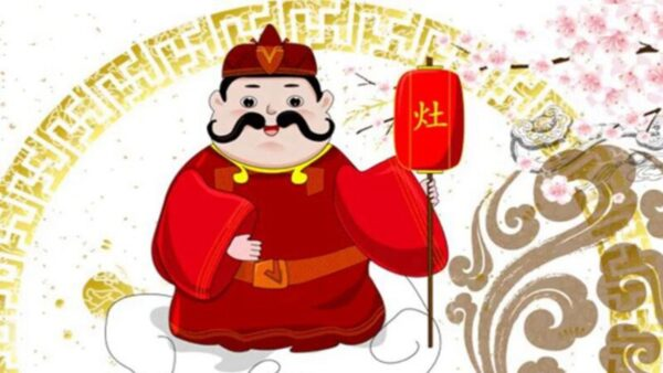 """""""上天言好事"""" 中国小年习俗:送灶王"""
