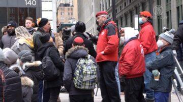 「金融起義」繼續 紐約人「重佔華爾街」抗議