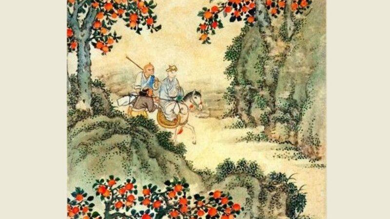 【西遊義趣】之十五:千年「稀柿」今朝淨