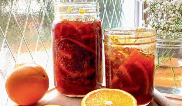 自製美味橘子果醬