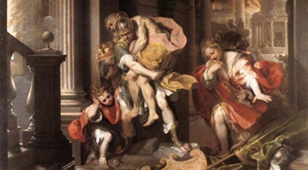 特洛伊战争后 哪些人转生成罗马伟人