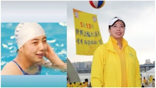 中国奥运泳坛巨星 从几近瘫痪到健康人生