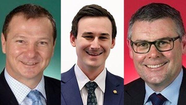 澳洲議員向李洪志先生和法輪功學員拜年