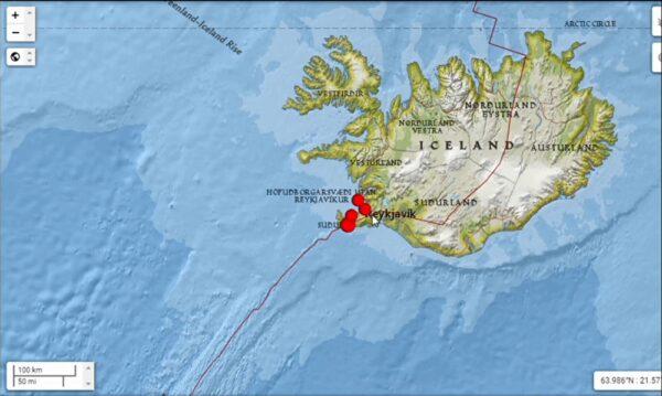 冰島5.6地震火山活動增加 首都搖不停