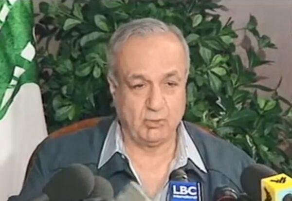染中共病毒 黎巴嫩前副总理去世终年88岁