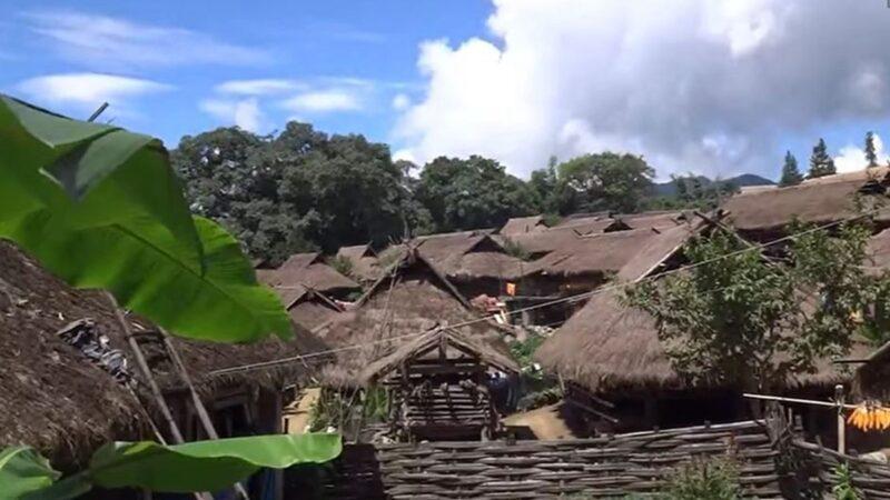 中國最後一個原始部落大火 400年茅屋燒光(視頻)